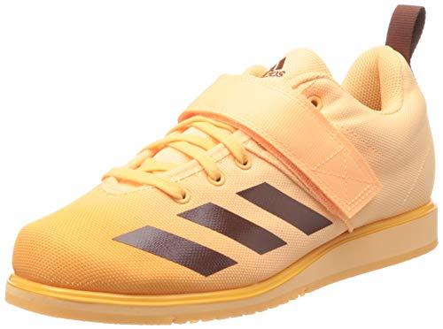 adidas Powerlift 4, Scarpe da Ginnastica Donna, Acid Orange/Wild Sepia/Hazy Orange, 38 2/3 EU
