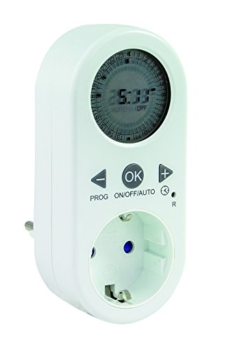 REV 0025030102 Zeitschaltuhr digital mit LCD-Anzeige, ws