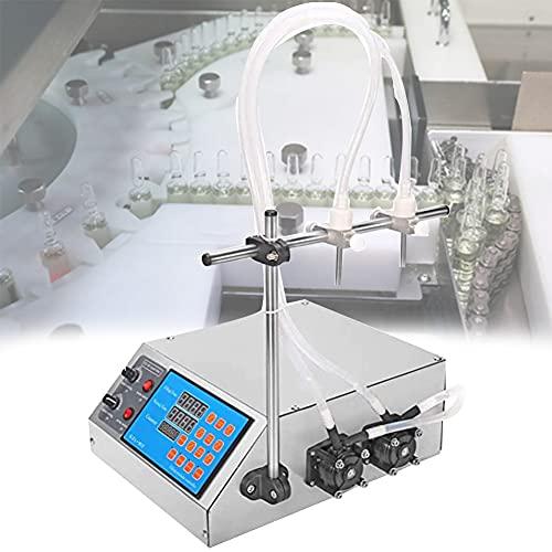 EnweOil Máquina de Llenadora de Líquido Neumática, Llenadora de Botellas, Fácil de Limpiar, Preciso, Diseño Anti-Goteo para Líquido Alcohólico Muy Concentrado