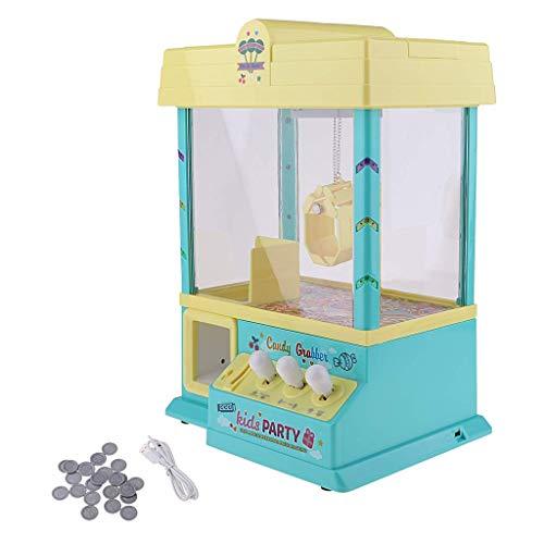 Tubayia Kinder Mini Süßigkeitenautomat Greifautomat Candy Grabber Maschine Spielzeug für Zuhause Party