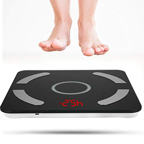 Review Of Rosvola Digital Body Weight Scale,BT Body Fat Scale USB Digital Bathroom Weight Scale with...