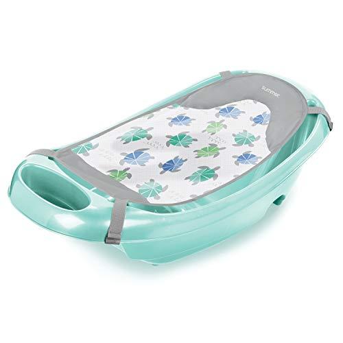 Summer Infant Summer Splish 'N Splash Newborn to Toddler Bath Tub, Aqua