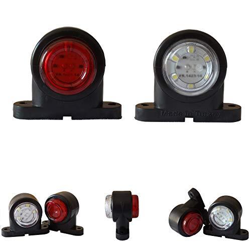 2x LED Umrissleuchte Begrenzungsleuchten 12V 24V Volt Positionsleuchten LKW PKW KFZ Anhänger