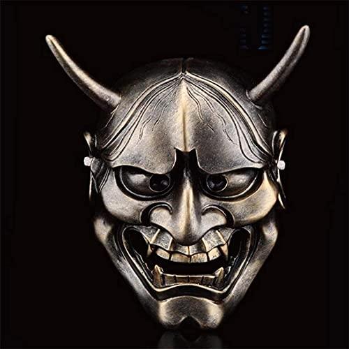 Máscara de mueca de Dominio de WHXL, fiesta de horror de fiesta de vacaciones, máscara de prajna