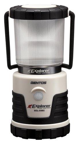 GENTOS(ジェントス) LED ランタン 【明るさ380ルーメン/実用点灯14-150時間/3色切替/防滴】 エクスプローラ...