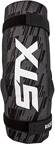 STX Lacrosse Stallion 75 Arm Pads, Black, Medium, Pair