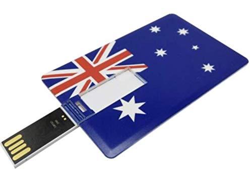 USB493 16GB-32GB PLÁSTICO Bandera DE Australia (32GB)