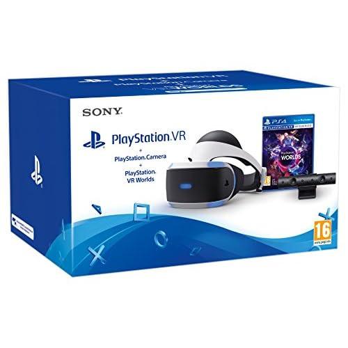 Sony - PlayStation VR + Cámara + VR Worlds: Amazon.es: Videojuegos