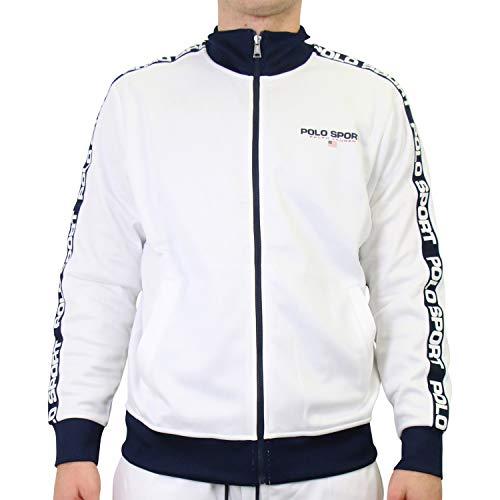 Ralph Lauren Herren Trainingsjacke Polo Sport Weiß S