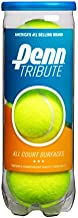 Penn Tribute Tennis Balls - All Courts Felt Pressurized Tennis Ball, 1 Can, 3 Balls