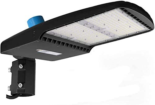 42000Lm LED Parking Lot Lights 300W LED Shoebox Light with Photocell 5700K Outdoor Commercial product image