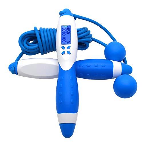Huiyoo Digitale Smart Jump Top, Nummer tellen Jump Top, Fitness Sport Skipping Touwen met Geluid Herinnering, Backlit Scherm, Gewicht Instelling en Calorieën Tel, Verstelbaar