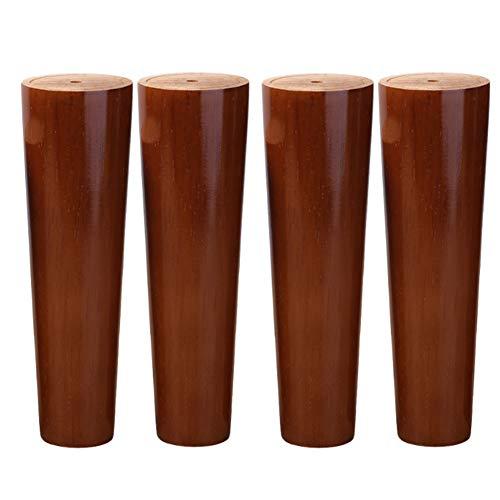 Meubel voet sofa voet accessoires pad massief houten tv-kast bad cabinet voet salontafel poten bed voetsteun poten * 4 60cm