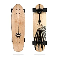 """Designed to be fun to ride and portable to carry around, this is our go-to board for anyone who skates everywhere. Length = 27.5"""" 