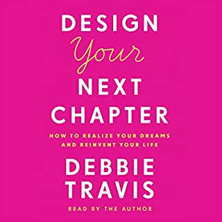 Design Your Next Chapter audiobook cover art