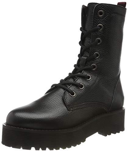 Buffalo Damen MAC Mode-Stiefel, Black, 39 EU