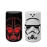 Star Wars - Juego de salero y pimentero, diseño de Darth Vader y soldado...