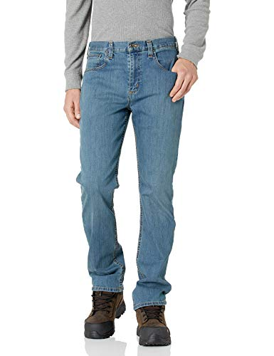 Carhartt Men's Rugged Flex Relaxed Straight Leg Jean, Coldwater, 34W X 36L