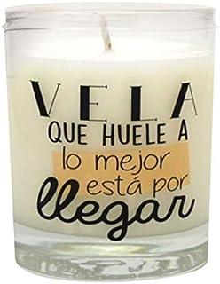 Vela Perfumada Mensaje Origuinal,Producto (Vainilla)