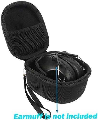 Khanka Hart Tasche Case für Honeywell Howard Leight Impact Sport Pro Weiche Ohrenschützer Elektronische Etui Schutzhülle.(nur tasche)