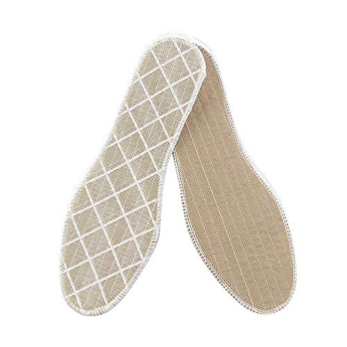 HEALLILY 3 Paires de Coussins Déodorants pour Chaussures Semelles Absorbant La Sueur Coussinets de Chaussures de Sport Fournitures de Soins des Pieds Unisexe (Taille 42)