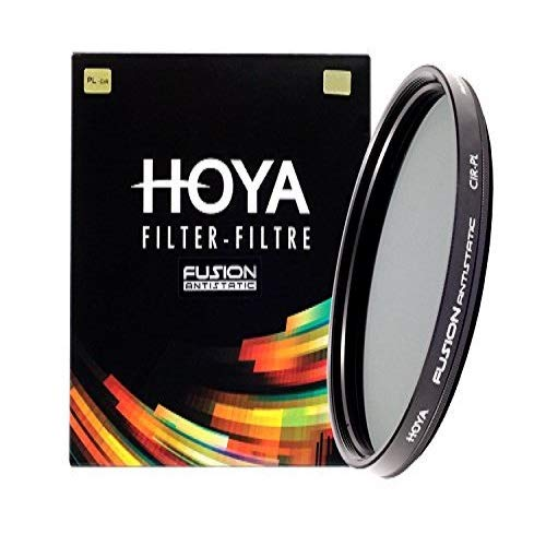 Hoya  Fusion Antistatic, Filtro para Cámara de Fotos 86 mm, Negro