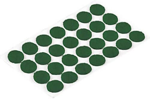 Assorted Sizes 46-Count Shepherd Hardware 9423 Self-Adhesive Felt Surface Protection Pads Green