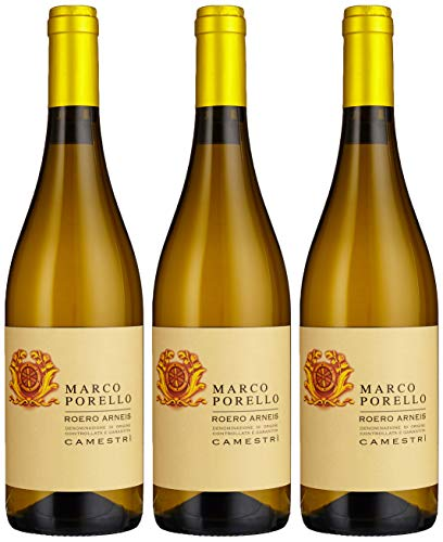 Marco Porello Roero Arneis Camestri DOCG, 3er Pack (3 x 750 ml)