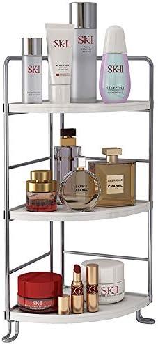 3 Tier Corner Spice Rack Kitchen Bathroom Countertop Organizer Vanity Tray Cosmetic Makeup Storage product image