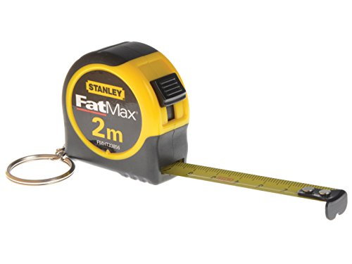 STANLEY FMHT1-33856 - Flexometro 2m x 13mm c/ llavero contenedor, 1 unidad