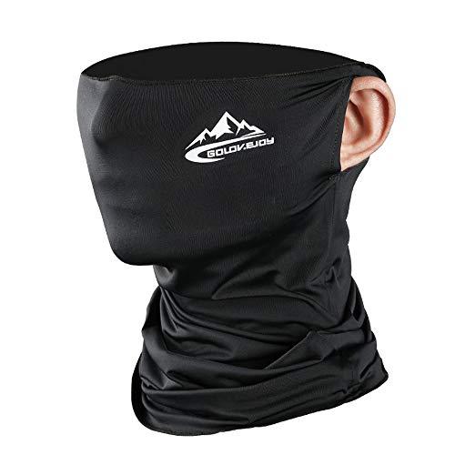 ROSAUI Sommer-Gesichtsmaske Bandanas UV-Schutz Halstuch Sturmhaube Gesichtsmaske wiederverwendbar waschbar UPF 50+ staubdicht Angeln Wandern Reiten Outdoor Sport für Damen und Herren