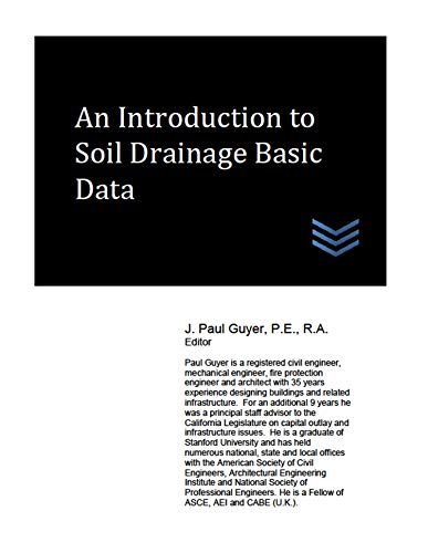 An Introduction to Soil Drainage Basic Data