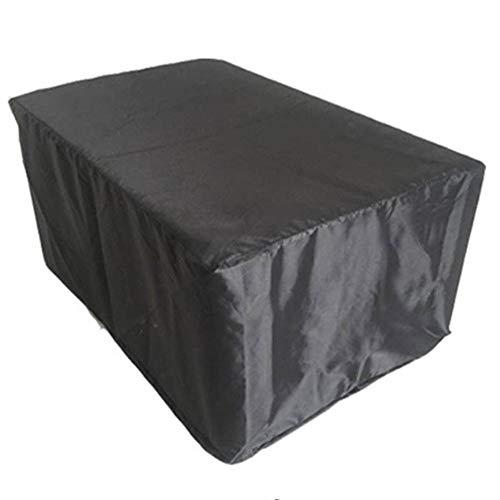 LRZLZY Jardín Muebles de ratán Cubierta al Aire Libre del sofá del jardín Impermeable Tabla Protector Solar y Presidente a Prueba de Polvo de PVC + Poliéster, 14 Tamaño