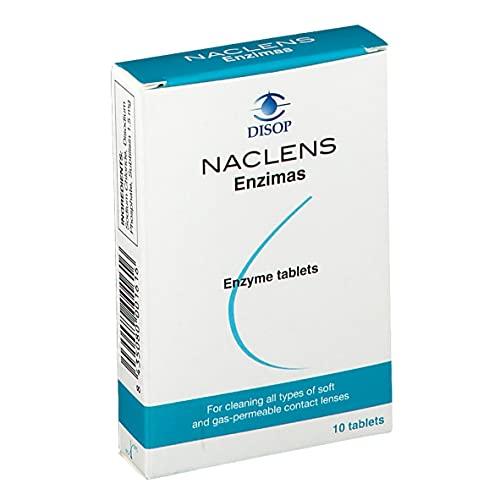 Limpiador Lentes Naclens Enzimas, 10 Comprimidos