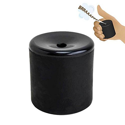 Funny Whoopee Create Farting Sounds Fart Pooter Gag Prank Joke Novelty Funny Gadgets Blague Tricky Novelty Toys Gift (Black)