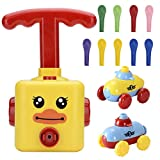 Balloon Launcher Car Toy Set - Interactive Stem Toys for Kids, Car Balloons| Balloon Car Toy with pump include Air Inflator Pump - Birthday Gift Idea for Children
