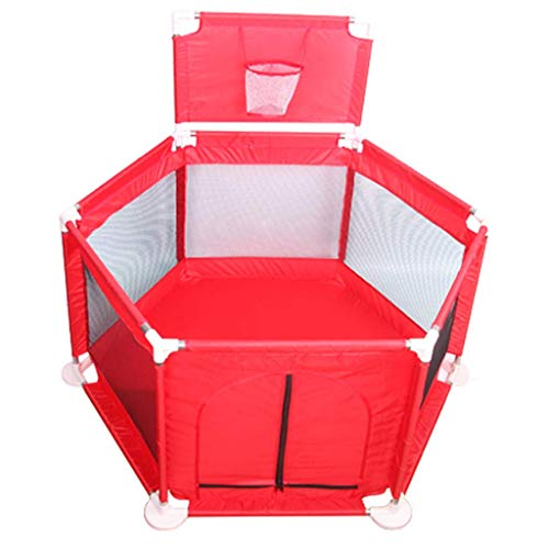 NMDD Baby Playpens Fence Castle Infant Barrier Kids Activity Centre Area Gate Indoor Playground Protective Ball Pits House Children'S Safety Playards Crawling Mat Game Room