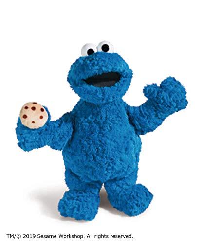 Nici 41958 Sesame Street – Peluche de Monstruo de Las Galletas de 35 cm para niñas, niños y Fans – Peluche Suave para acurrucarse y Jugar – Peluche de la Calle de Barrio Sésamo, Color Azul