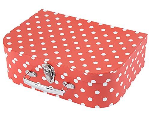 Bieco Kinderkoffer met schattig diermotief, koffer van karton