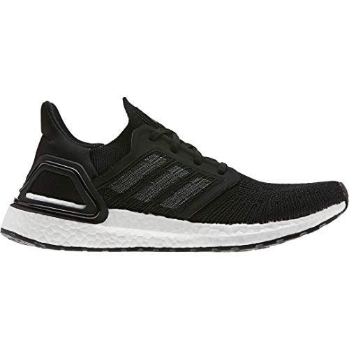 adidas Women's Ultraboost 20 Running Shoe, Black/Night Metallic/White, 8.5 M US