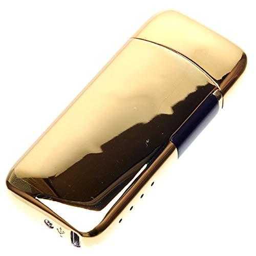GoodsLand 【 5color 】 充電式 プラズマライター USB充電式 小型 電子ライター コンパクト usbライター スリム アウトドア おしゃれ アークライター GD-NPLITR-GD