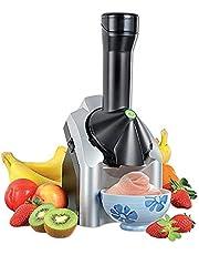 IJsmachine softijsmachine voor thuis, ijscrème-maker, ABS-kunststof, niet-giftige kunststof, roestvrij staal, geschikt voor yoghurtijs en softijs