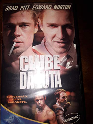 CLUBE DA LUTA FITA VHS