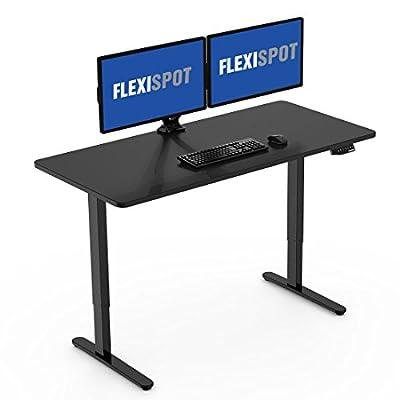 """Flexispot Height Adjustable Desk Frame, 48""""H Electric Sit Stand Desk Base"""
