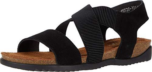 David Tate Clear Women's Sandal 11 2A(N) US Black