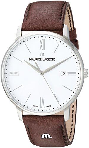 Maurice Lacroix Herren analog Swiss Quartz Uhr EL1118-SS001-113-1
