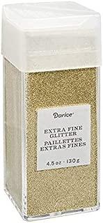 Darice 30029668 Extra Fine, Gold, 4.5 Ounces Glitter