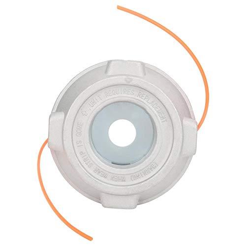 Longzhou Cabezal de Corte de Aluminio de 135 mm de diámetro Cortacésped Cepillo Cortador de Hierba Strimmer Accesorio Plata