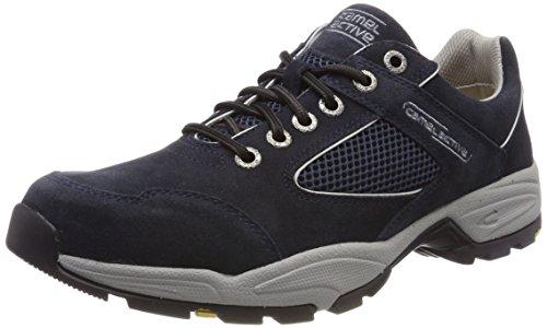 camel active Herren Evolution 11 Sneaker, Blau (Navy 27), 43 EU