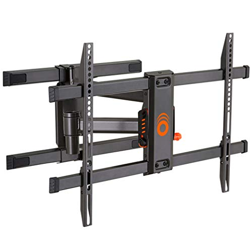 "ECHOGEAR Full Motion Articulating TV Wall Mount Bracket for TVs Up to 82"" - Smooth Extention, Swivel, Tilt - Wall Template for Easy Install - Centers & Levels After Mounting Plus Hides Your Cables"